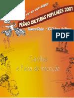 MANUAL DE ORIENTACAO- CULTURAS POPULARES