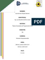 Jtable(Datos del Alumno)