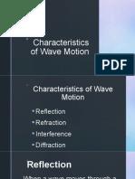 Characteristics of Wave Motion