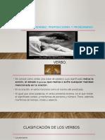VERBO, ADVERBIOS, PREPOCIONES Y PRONONMBRES..pptx