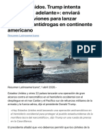 Estados Unidos. Trump intenta «huir hacia adelante»_ enviará buques y aviones para lanzar operación antidrogas en continente americano - Resumen Latinoamericano