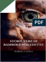 Storie Vere Di Bambole Maledett - Roberta Merli