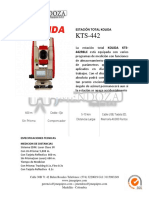 ESTACIÓN TOTAL KTS-442R6LC