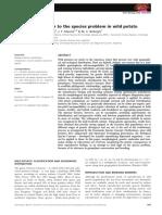 Сamadro et al 2012 genet approach to species problems