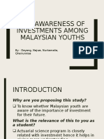 Sample Proposal Investment Amoung Youth