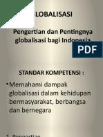 GLOBALISASI ke 1