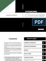 Hyosung GT650 Workshop Manual