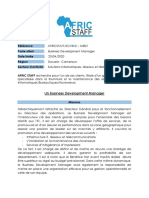 200416 Offre Business Development Manager