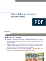 Role of Behaviour finance in Equity Markets.pdf