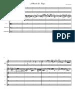 Muerte del Ángel bnd y cuerdas - Full Score