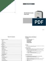SPF 2000-5000TL HVM User manual