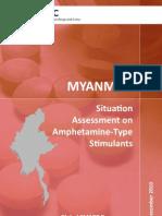 Myanmar Burma  ATS Report_Drug  2010