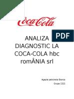 Analiza Diagnostic La Firma Coca