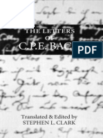 The letters of C.P.E. Bach by Bach, Carl Philipp Emanuel Clark, Stephen L. (z-lib.org).epub