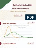 COVID19 - Presentacion Grupo Científico Presidente 15abr20