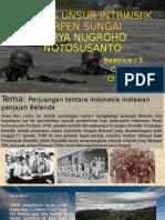 ANALISIS UNSUR INTRINSIIK CERPEN SUNGAI KARYA NUGROHO NOTOSUSANTO 2