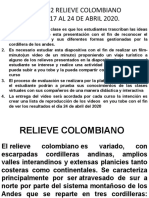 CLASE 2 RELIEVE COLOMBIANO