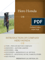 Ppt Hero Honda