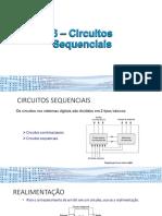 6 – Circuitos Sequenciais