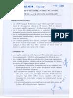 Protocol Lo d'Intesa Per La Difesa Del Lavoro, La Coesione Sociale