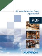 ASPIRO Air ventilation for Every Application - FA