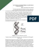Difracción de rayos X para la estructura de moléculas biológicas y sus aplicaciones en el campo farmacéutico
