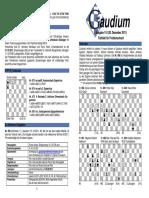 Chess Magazine Gaudium 114