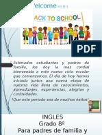 INGLES GRADO 8