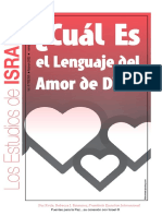 El Lenguaje del amor de DIOS