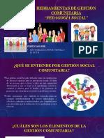 HERRAMIENTAS DE GESTIÓN COMUNITARIA