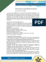 Evidencia 5 informe de proceso de nacionalizacion de mercancias