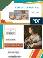 Virtudes dianoéticas, ética nicómaco