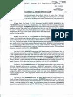 Damon K. Roberts Plea Agreement