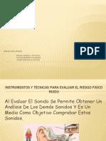 diapositivas de RIESGO FISICO (RUIDO)