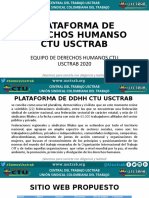 plataforma de DDHH