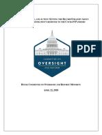 Obtained House Oversight Memo Shows Trumps Response To Coronavirus
