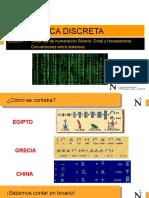 SEM 1_DS_Sistema de numeración y Conversión