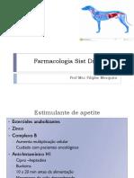 Farmacologia Sist Digestório