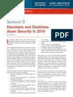 Medcalf, Decisions and Destinies