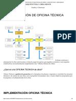 IMPLEMENTACIÓN DE OFICINA TÉCNICA DE OBRAS – ARQUITECTURA Y OBRA MENOR