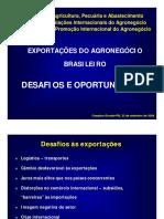 Oportunidades e Desafios Às Exportações Do Agronegócio Brasileiro