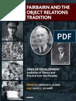 (Lines of Development Series) David E. Scharff, Graham Clarke-Fairbairn and the Object Relations Tradition-Karnac Books (2014)