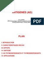 2- Antigènes 2020