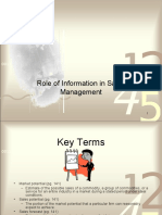 ROLE OF INFORMATION IN SALES MANAGEMENT UNIT 4 .ppt