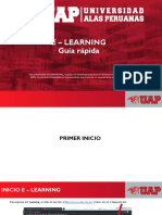 GUÍA RÁPIDA E - LEARNING DOCENTE