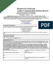Public sector executive compensation market review