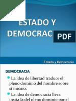ESTADO Y DEMOCRACIA VII