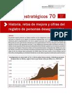 SENADO MX SELECCIÓN de Reporte RNPED Personas Desaparecidas Historia Retos y Cifras Del Registro 2019