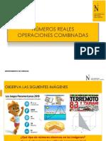 PPT 01_NUMEROS REALES_NACIONAL_COMMA 2020 1