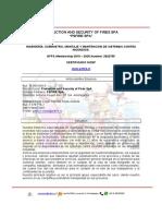 CV PSFIRE SpA V8